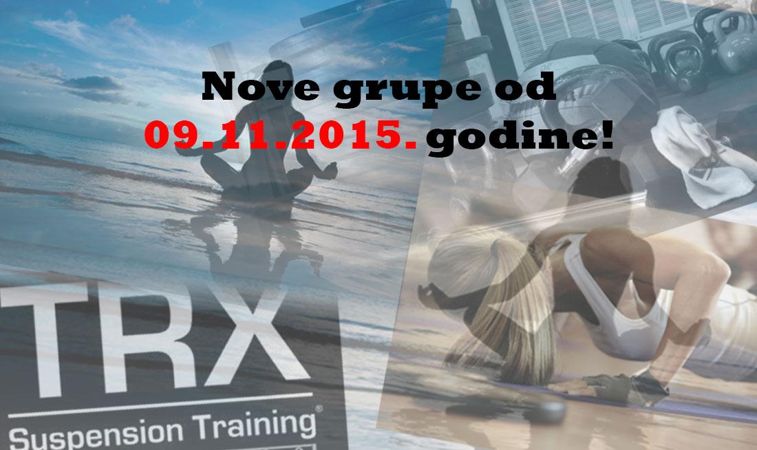 Nove grupe od 09.11.2015.