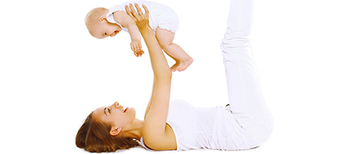 Zanimljiv program vježbanja za mame & bebe