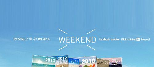 WEEKEND MEDIA FESTIVAL – ROVINJ  18. – 21.09.2014!