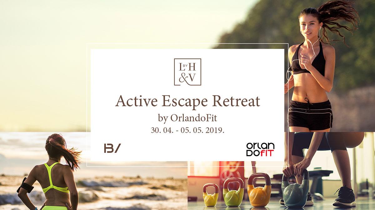 ACTIVE ESCAPE RETREAT by Orlando Lopac