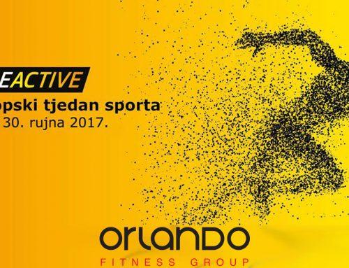 Europski tjedan sporta – #BeActive
