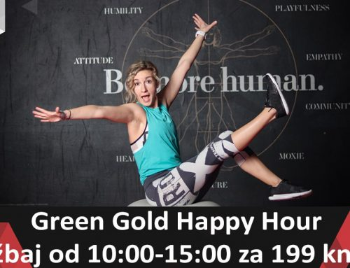 Green Gold Happy Hour