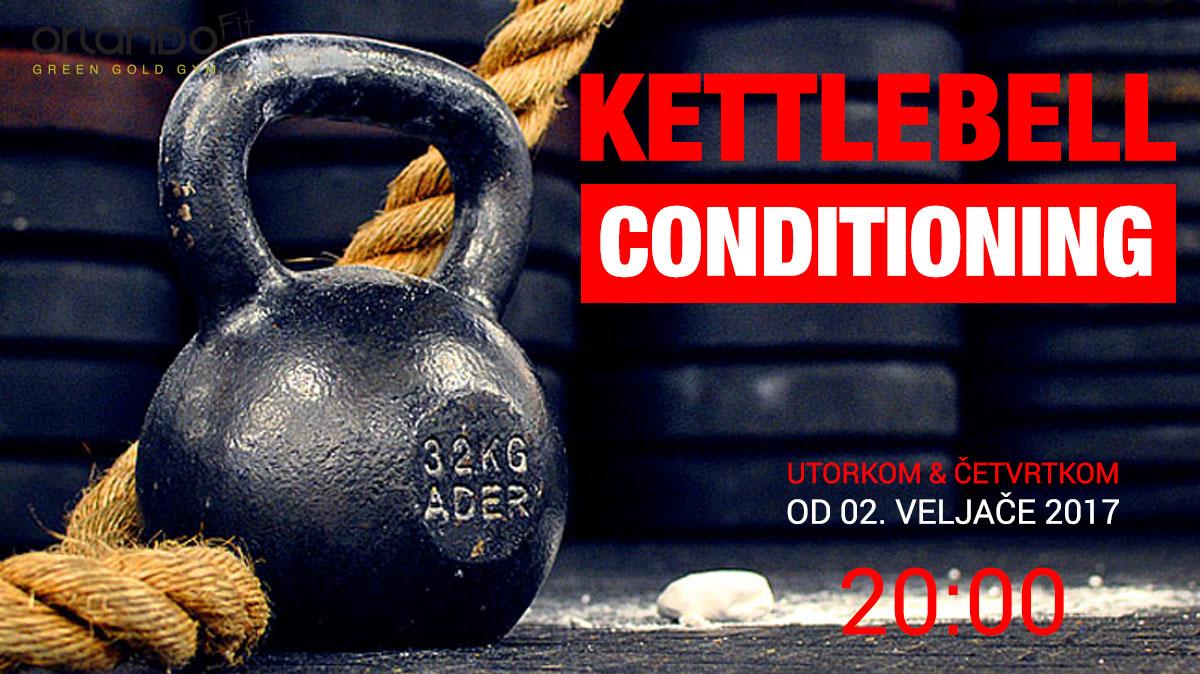 KETTLEBELL CONDITIONING U Green Gold Gym-u