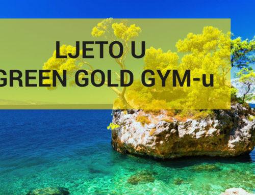 Green Gold Gym – privremeno zatvaranje grupnih programa