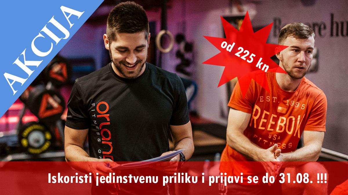 OrlandoFit akcija za kraj ljeta:)