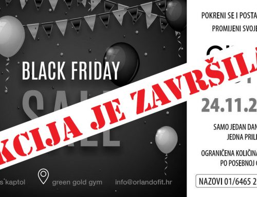 Fitness BLACK FRIDAY 2017 @ OFG