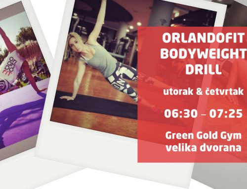Novi program u Green Gold Centru – ORLANDOFIT  BODYWEIGHT  DRILL