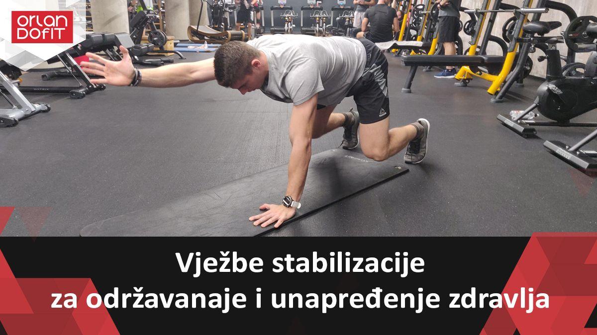 Vježbe posturalne stabilizacije kao važan faktor u održavanju i unapređenju zdravlja lumbalne regije trupa