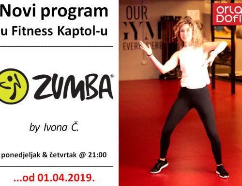 Zumba Fitness ponovno u Kaptolu