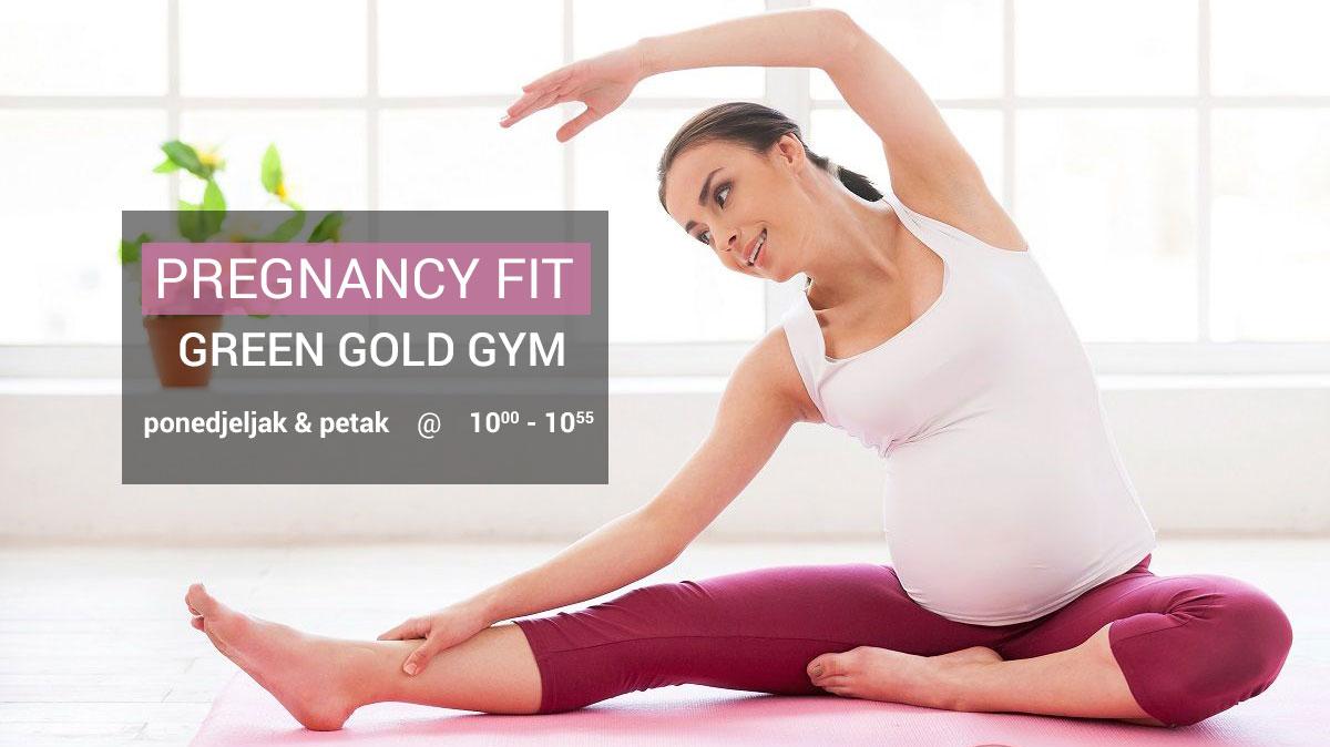 Pregnancy Fit u Green Gold Gym-u!