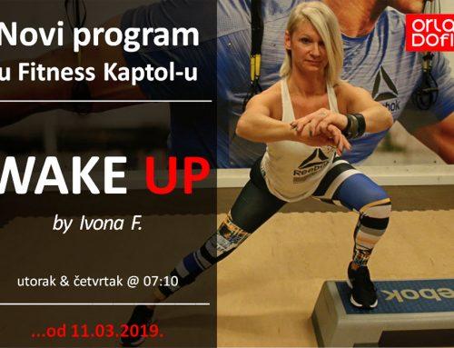 WAKE UP – novi grupni program u Fitness Kaptolu