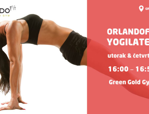 Od 17.04.2018. ponovno kreće Yogilates u Green Gold Gym-u