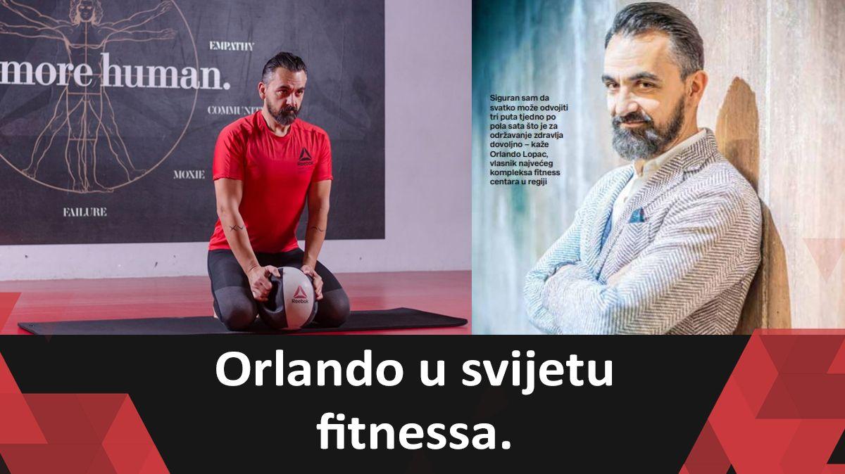 Orlando u svijetu fitnessa – Novi broj Playboy izdanja. Veliki interview sa CEO Orlandom Lopcem