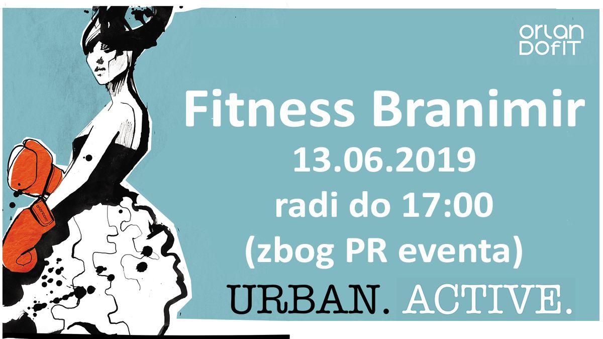 Fitness Branimir – radno vrijeme 13.06.2019.