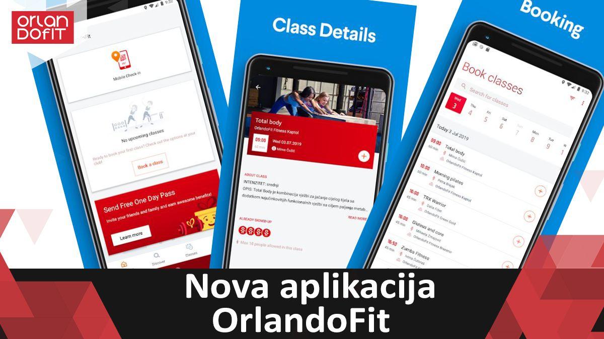 OrlandoFit nova mobilna aplikacija!