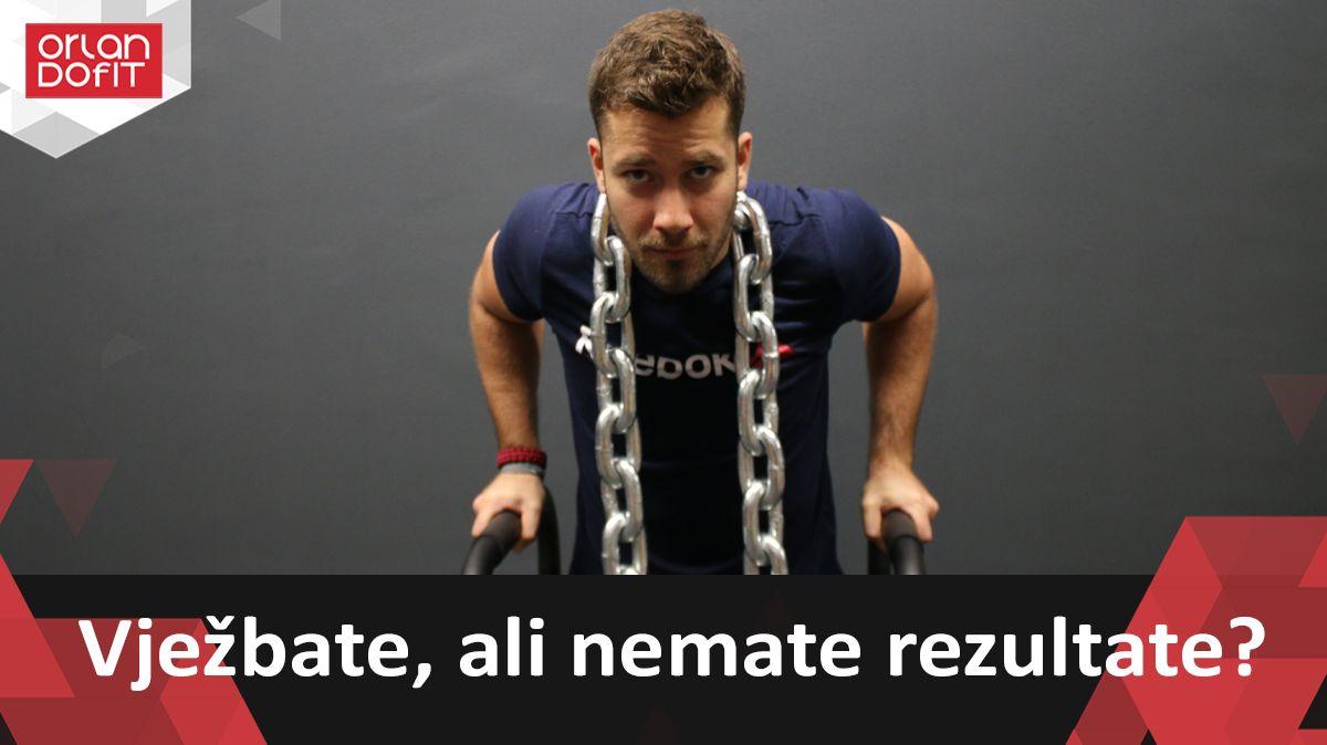 Vježbam a ne mršavim :(