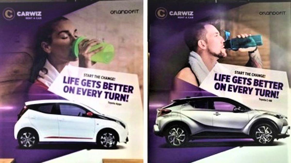 Orlando Fitness & Carwiz rent a car i u 2021. nastavljaju svoju suradnju!
