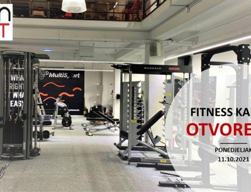 Fitness KAPTOL – OTVORENJE 11.10.2021.