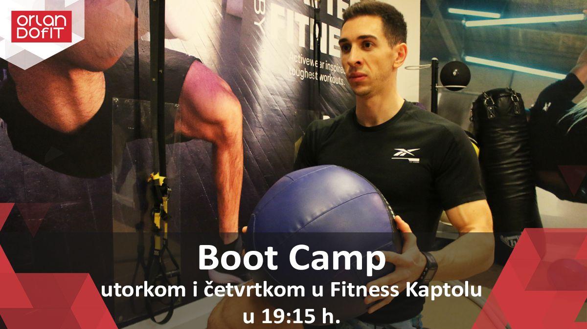 Novi visoko intenzivni kružni trening – Boot Camp!