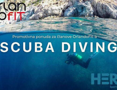 "OrlandoFit vas vodi na tečaj ronjenja ""Scuba Diving"""
