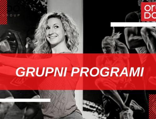 Vaši omiljeni grupni programi su ponovno aktivni!