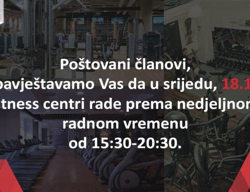 Radno vrijeme 18.11.2020