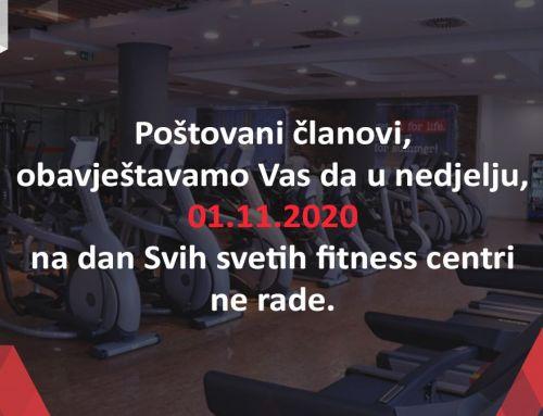 Blagdan Svih svetih 2020