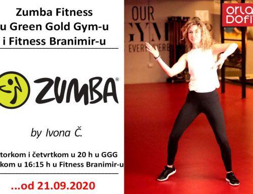 Zumba Fitness u Green Gold Gym-u i Fitness Branimiru