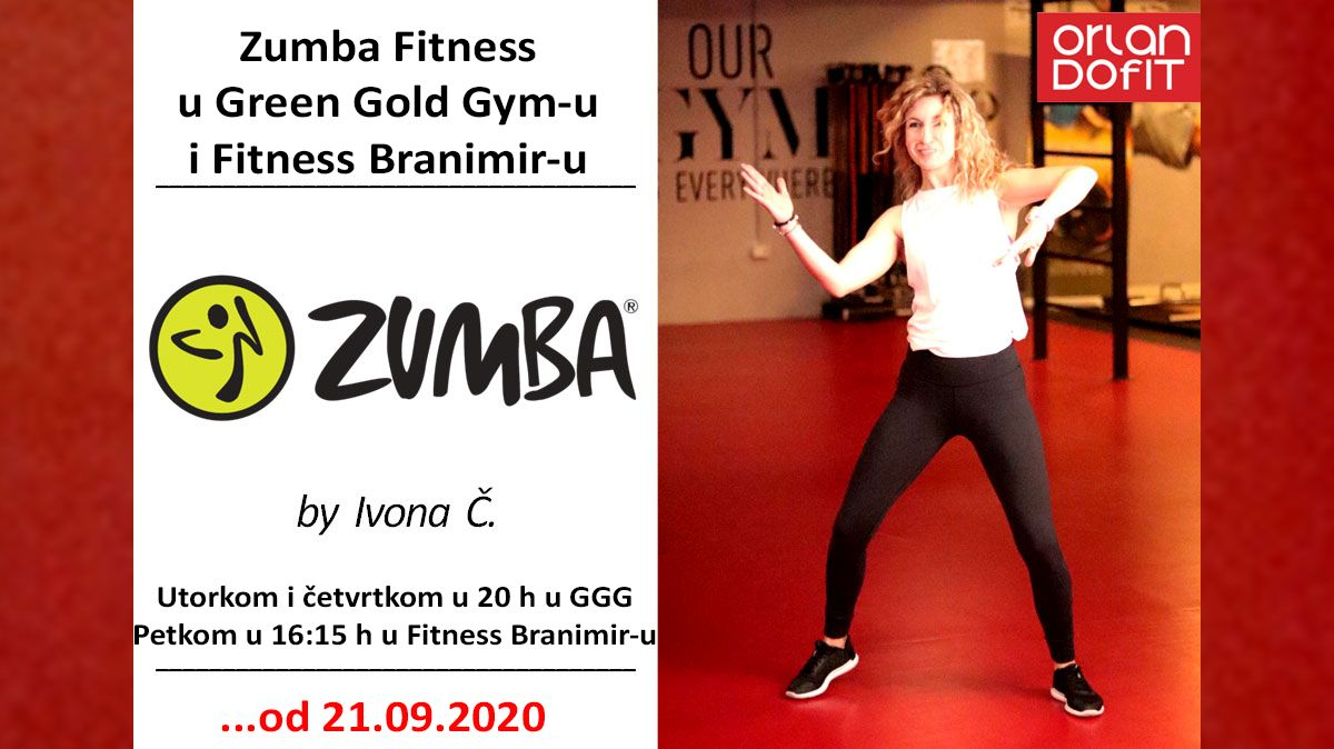 Zumba Fitness u Green Gold Gym-u i Fitness Branimiru